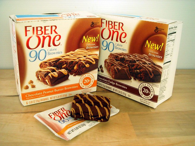Fiber One 90 Calorie Brownie review