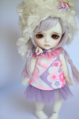 Saddness (Aya_27) Tags: yellow bigeyes doll special littlegirl bjd custom dollfie saddness limited dollie latidoll lati sadlook faceupbyandreja