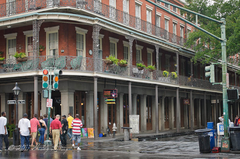 Entering the French Quarter