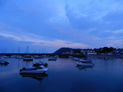 Thursday evening in Bray harbour