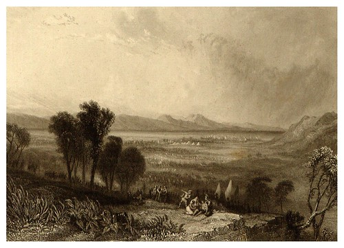 007-LLanura de Maraton-La Grèce pittoresque et historique 1841- Christopher Wordsworth-© Biblioteca de la Universidad de Heidelberg