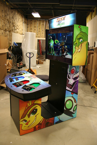 arcade mockup