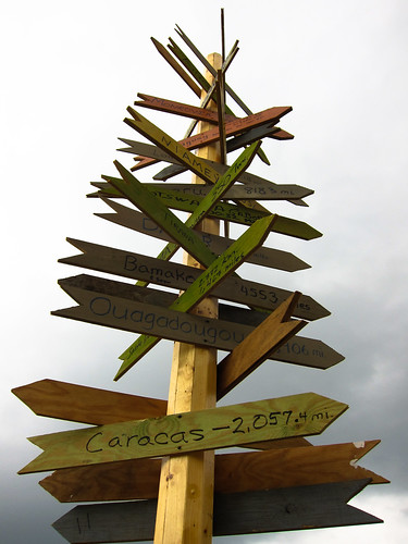 The Worlds Signpost