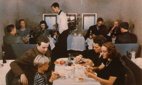 Boeing 314 Dining Room