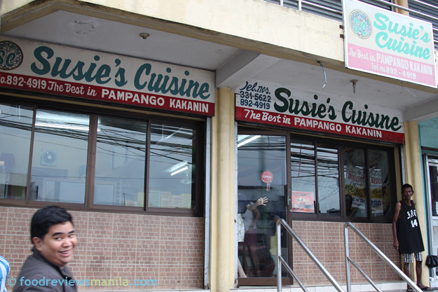 Susie's Cuisine store front