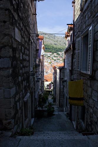 An Alleyway In Dubrovnik