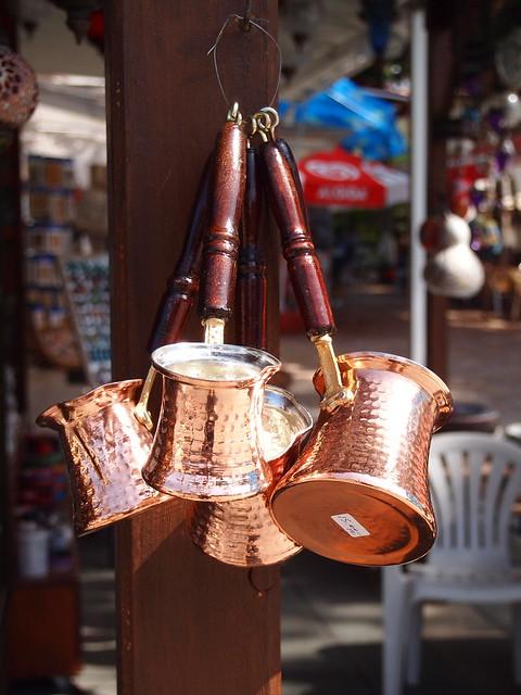煮土耳其咖啡用的小銅鍋