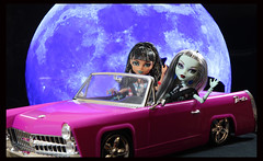 Cleo and Frankie (DollsinDystopia) Tags: doll dolls mattel frankiestein monsterhigh cleodenile dayatthemaul