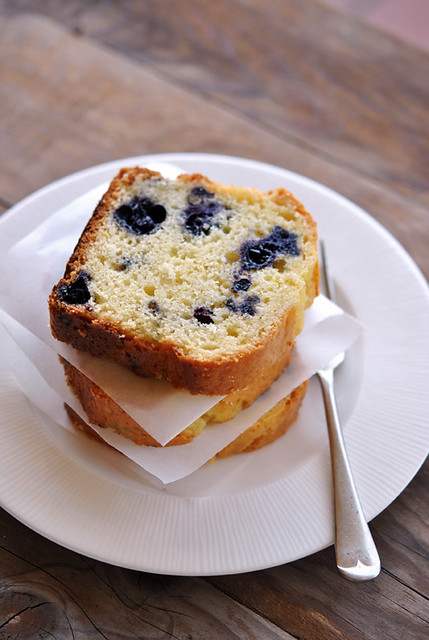 Cake di mirtilli