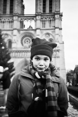 Noreen ((stephenleopold)) Tags: portrait paris lomo lca notredame cathdrale noreen kodaktmax100 baladeparisienne