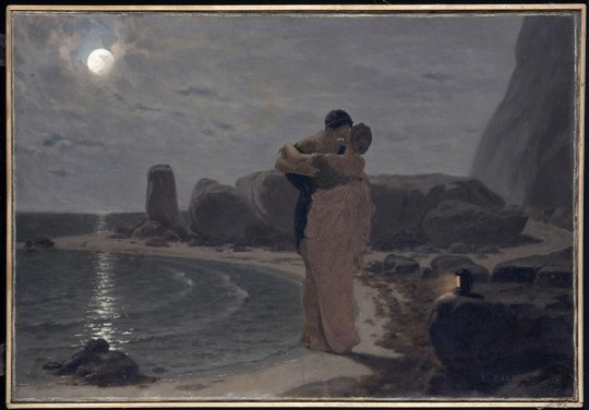 Louis-Marie Baader, Héro et Léandre (1866)