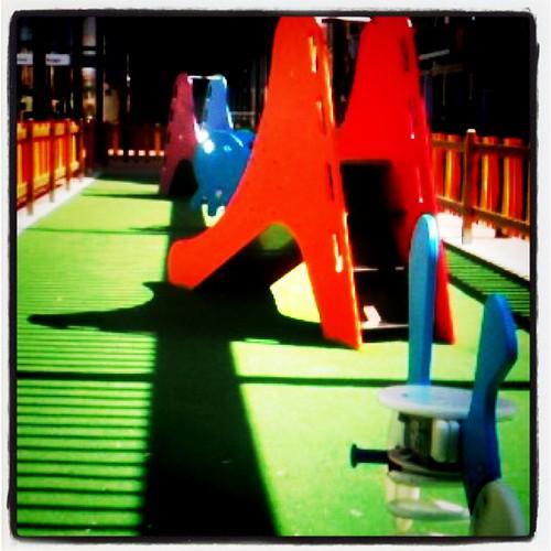 Parking de juegos vacios x el sol by rutroncal