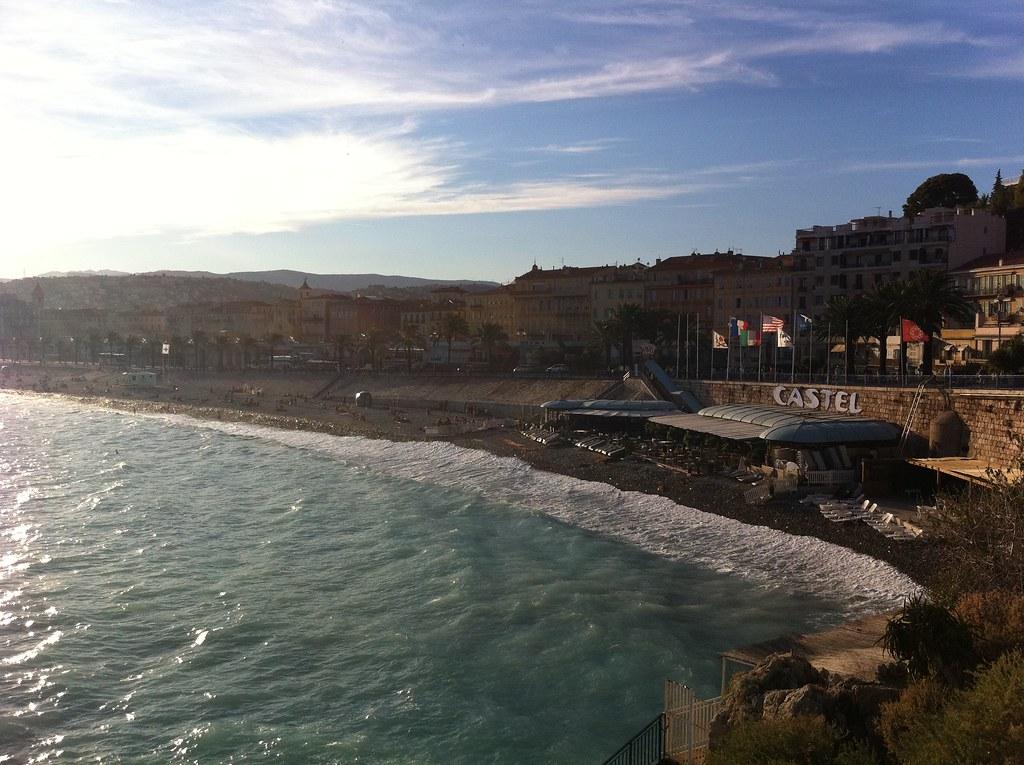 Beach in Nice (France)