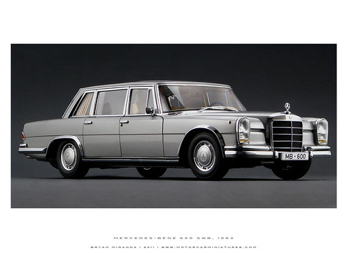 Mercedes-Benz 1963 600 SWB - Silver