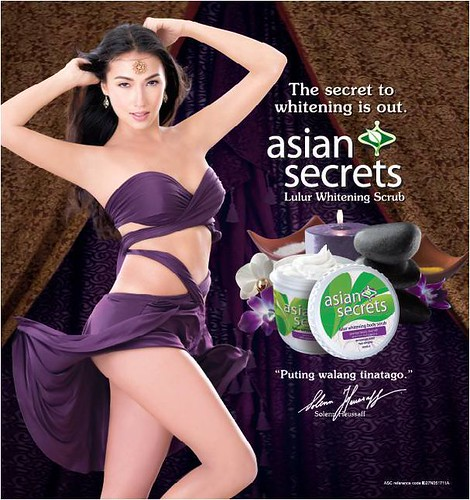 Solenn Heusaff for Asian Secrets Lulur