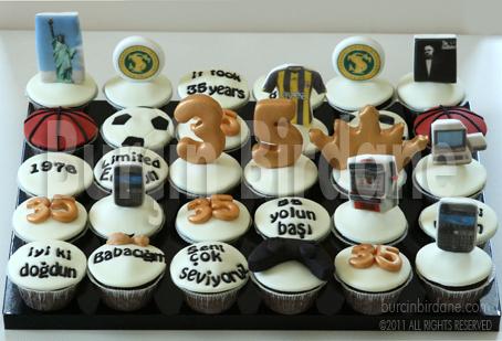 35 yas cupcake 1