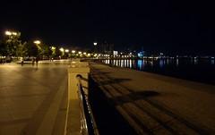 Азербайджан. Баку. Набережная (varfolomeev) Tags: sea night azerbaijan ночь 2011 море азербайджан olympuse410