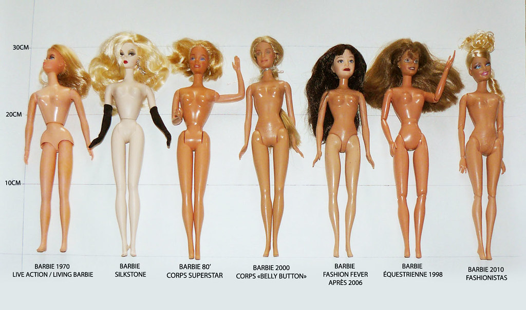 Morphologie de Barbie à travers les âges... 5956625643_05cc73735c_b
