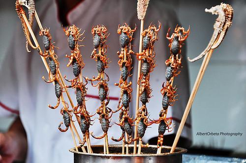 Scorpion Kebab