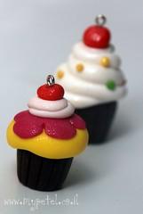polymer clay cupcakes ~*~ קאפקייקס מפימו (~ petel ~) Tags: petel דנה פטל פימו שרשרת קאפקייק mypetel פטלעוגות