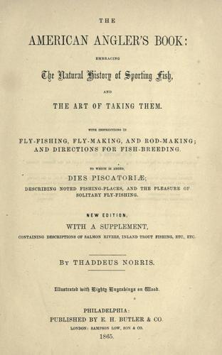 American Angler's Book