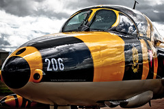 RIAT 2011 Tiger Hunter (iesphotography) Tags: tiger hunter hawker fairford riat 2011 staffel11 hbrvv j4206