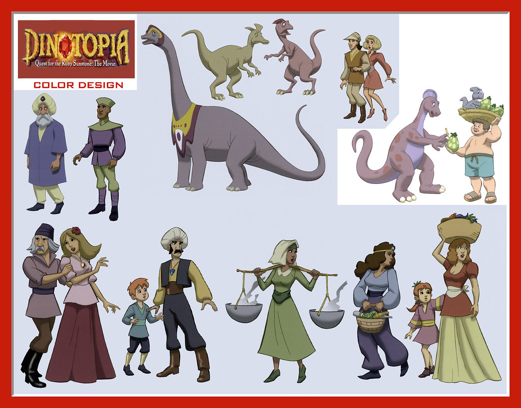 dinotopia coloring pages - photo#4