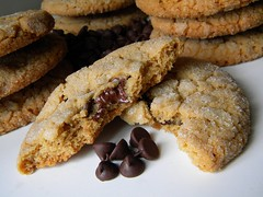 "Peanut Butter Surprises - a recipe from ""Murder by Mocha"" a Coffeehouse Mystery by Cleo Coyle (Cleo Coyle) Tags: cookies recipe dessert stuffed chocolate recipes peanutbutter coffeehousemystery murderbymocha cleocoyle"