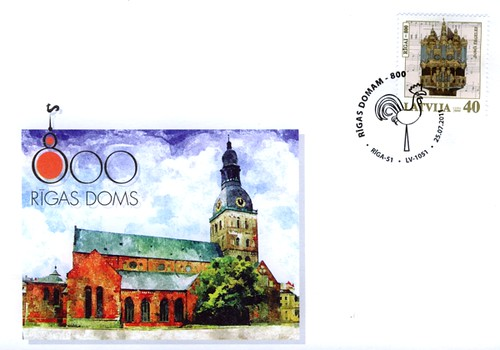 Rīgas Doma astoņsimtgades aploksne
