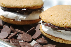 Whoopie Pie Recipes: S'mores on Chocolate (Jessica Nunemaker) Tags: travel food cakes cookies recipe dessert photography yummy flickr good indiana best delicious marshmallow smores snacks recipes travelblog whoopiepies chocolatechips chocolateganache whoopiepie gobs travelwebsite littleindiana jessicanunemaker marshmallowfilling whoopiepierecipes gobsrecipe smoreswhoopiepie friedeggsmoreswhoopiepie
