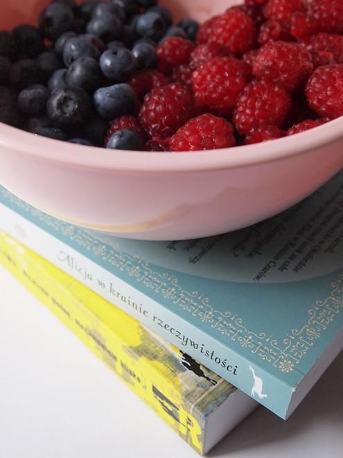 rasberries&blueberries&books