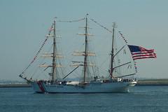 USCGC Eagle WIX-327 (jelpics) Tags: ocean sea coastguard boston harbor boat ship vessel mast tallship bostonma rigging barque bostonharbor uscg uscoastguard uscgceagle uscgceaglewix327 uscgc327