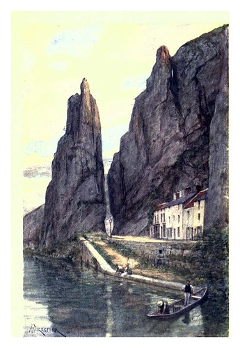 019-La roca Bayard en Dinant-Belgium 1908- Amédée Forestier