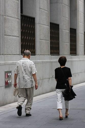 都会の二人 / Two people in the city