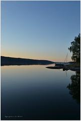 Morning over Baggensfjrden (Papa Razzi1) Tags: blue sea sunrise nikon sweden calm waters 100 soluppgng saltsjbaden baggensfjrden baggen vrgrd nikond3100