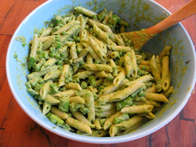 pasta with asparagus asparagus pasta asparagus and ramp pesto ...