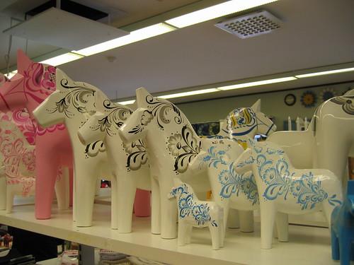 Modern dala Horses