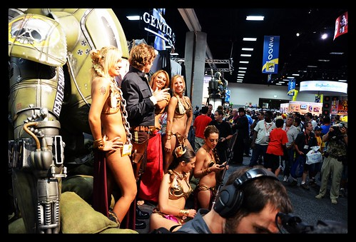 SDCC 2011 - Slave Girls