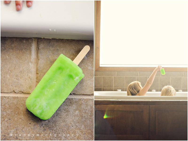 popsicle diptych