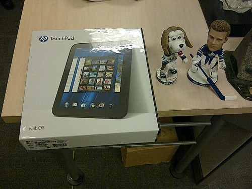 just got a touchpad from hp to break - this will be fun