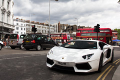 Addiction. (Alex Penfold) Tags: auto camera white london cars alex sports car sport mobile canon photography eos photo cool flickr image south awesome flash picture super spot exotic photograph spotted hyper kensington lamborghini supercar spotting numberplate exotica sportscar sportscars supercars lambo penfold spotter 2011 hypercar 60d hypercars aventador alexpenfold