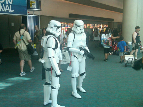 Comic-Con 2011 Stormtroopers