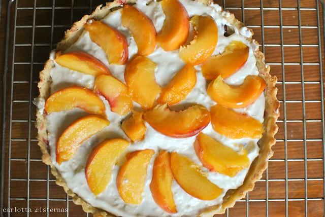 peach tart