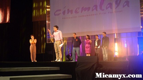 First-time director Marlon Rivera bags the Best Director award for Ang Babae sa Septic Tank