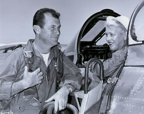 Chuck Yeager and Jackie Cochran