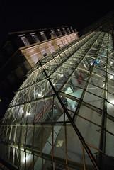 (TiLoKi) Tags: roof urban glass train nikon lyon gare tokina1224 exploration toit verre urbex urbaine verrire d80 obliquemind obliquamente