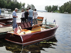wood lake classic minnesota boats boat cross antique lakes chain fiberglass whitefish crosslake mn outboard inboard