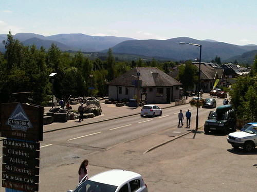 View from Aviemore Restaurant