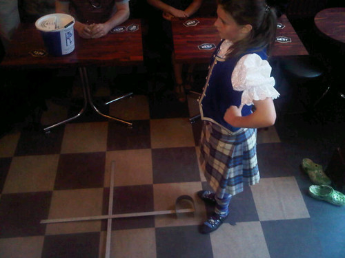 Highland Dancing, Stirling Pub,