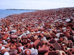 Brick Beach (camasy) Tags: street lake toronto ontario brick beach construction spit leslie waste lakeontario constructionwaste